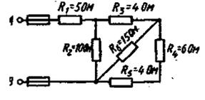 Дано: Задаваемая величина UAB = 100 В. Замыкается накоротко R6. Изменение какой величины рассмотреть U1