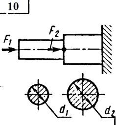 Контрольная работа по дисциплине «ТЕХНИЧЕСКАЯ МЕХАНИКА» 9 вариант № 5758-09